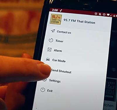 Send A Shoutout Through Our App