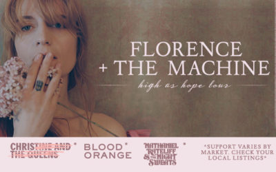 WIN Florence + The Machine Tickets!