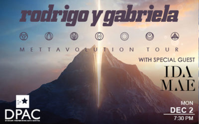 Go to the show for FREE! Rodrigo y Gabriela