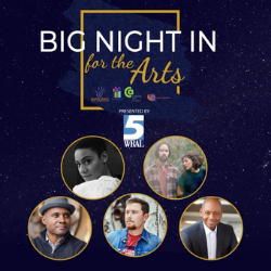 TONIGHT, MARCH 11: WRAL's Big Night In for the Arts