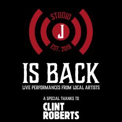 STUDIO J IS BACK: Clint Roberts Session